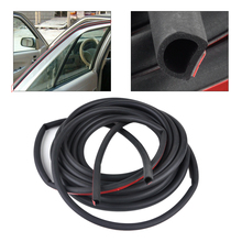 CITALL Car-styling 8M / 4M D / P / Z Shape Door Edge Rubber Hollow Weatherstrip Noise Insulation Sealing Strip Trim Protector