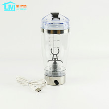 LIYIMENG 450ml USB Electric Automation Protein Shaker Blender My water Bottle Automatic Movement Outdoor Tour Coffee Milk(China)