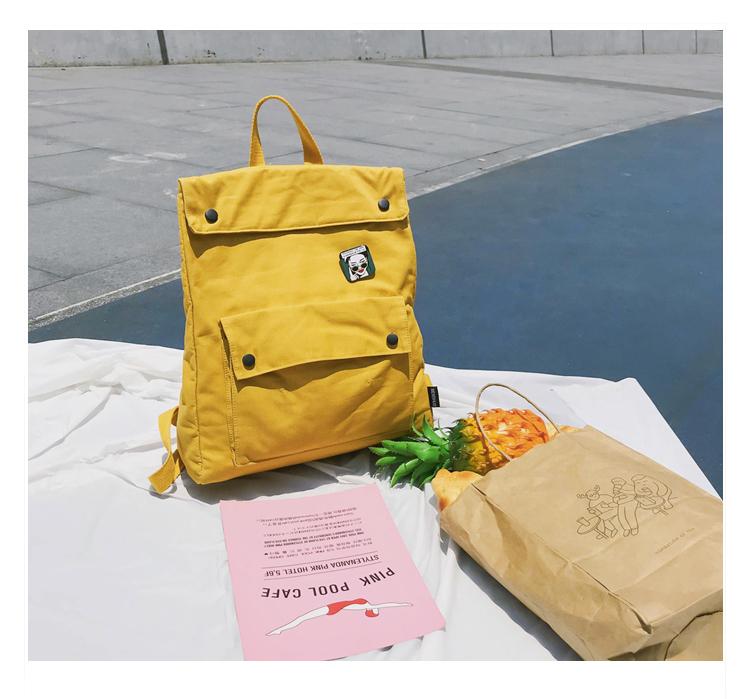 Menghuo Brand Female Women Canvas Backpack Preppy Style School Lady Girl Student School Laptop Bag Cotton Fabric bolsas00_31-1_17