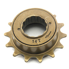 Bike 14T Freewheel Single Speed mtb Components Steel Bicycle Sprocket Gear Folding Bike Singlespeed Freewheels Cycling Parts