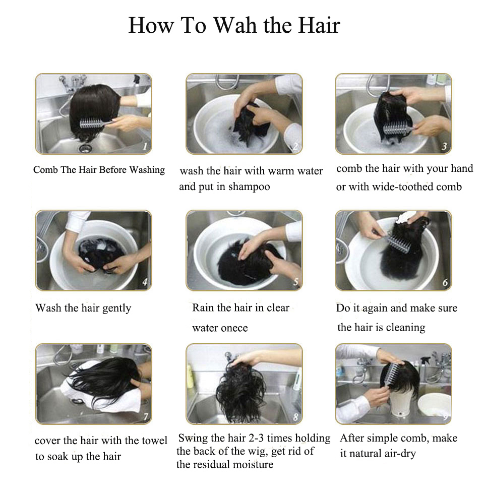 how to wash the hair