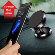 Universal Magnetic Car Phone Holder 360 Rotation Magnet Air Vent Mount Mobile Phone Holder For iPhone 6 6s 7 Plus Samsung Huawei