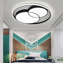 Modern Ceiling Lights Luminaire Plafonnier Acrylic Aluminum For Living Room Bedroom AC85 265V Round Lamp