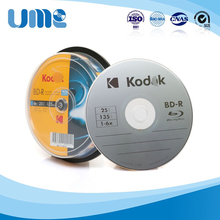 Wholesale 25 Discs 100% Authentic K-Brand Blank Printed 25 GB GB 6X BD-R Blu Ray Discs