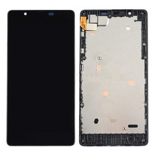 Front Housing  Frame Touch Screen Digitizer LCD Screen Display Assembly For Microsoft Lumia 540 Repair Part
