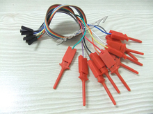 Test Hook Clips Ideal for Logic Analyser 10-way in s799