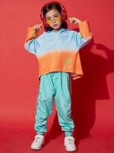 0ffde39acbb2a Nuevo alta calidad 2019 chicas de la calle trajes de baile mujer hip-hop  marea de la ropa de los niños de la calle danza