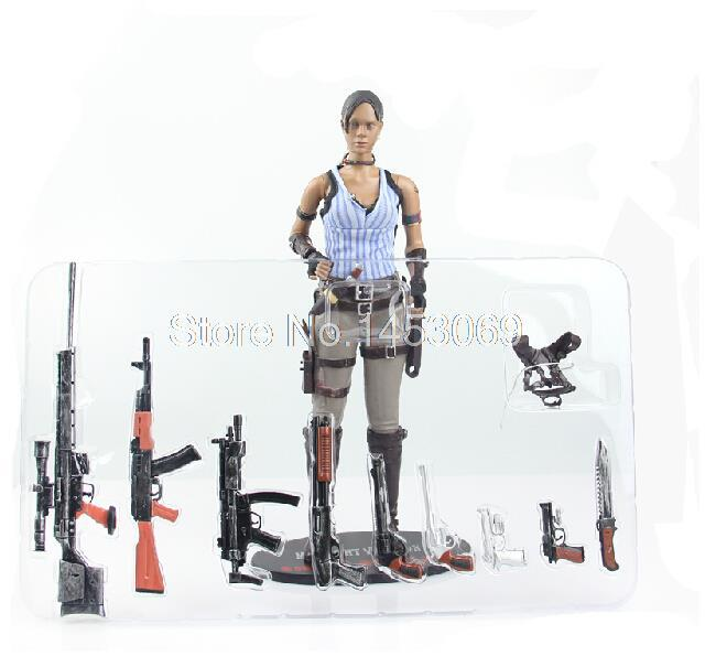 12 30CM Resident Evil 5 Sheva Alomar PVC Action Figure Collectible Model Toy WF071<br><br>Aliexpress