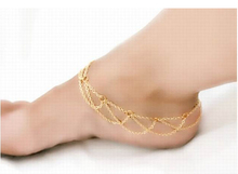 Promotion New Design Gold Color Anklets for Women Ankle Bracelet Chain Foot Jewelry wholesale Body Jewelry Foot Chain