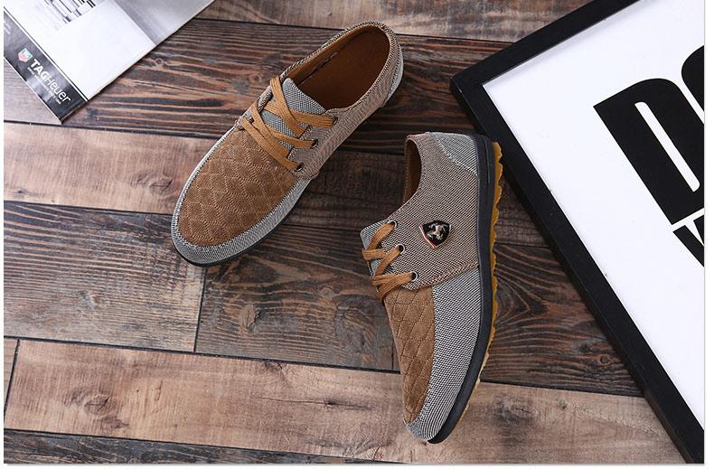 18 Fashion Canvas Shoes Men Casual Shoes Summer Breathable Yellow Comfortbale Espadrilles Sneakers Men Flats Shoes Big Size 9