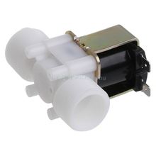 "3/4"" DC 12V PP N/C Electric Solenoid Valve Water Control Diverter Device #L057# new hot"