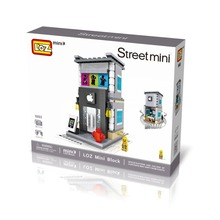 Apple Store LOZ Architectural 301 Pcs Mini Bricks Single Sale Street View Buildings Blocks Toys for Children 1603