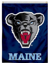 Maine Black Bears House College Large Outdoor Flag 3ft x 5ft Football Hockey Baseball USA Flag(China)
