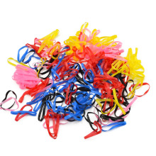 300 PCs/Bag Child Kids Hairbands TPU Hair Holder Girls Elastic Rubber Bands Basic Models Hair Accessories For Girl