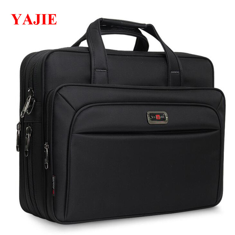 YAJIE Large Capacity Mens Handbags 14-16 Inches Laptop Bag Business Men Messenger Bags Fashion Travel Handbag Shoulder Bag M412<br>