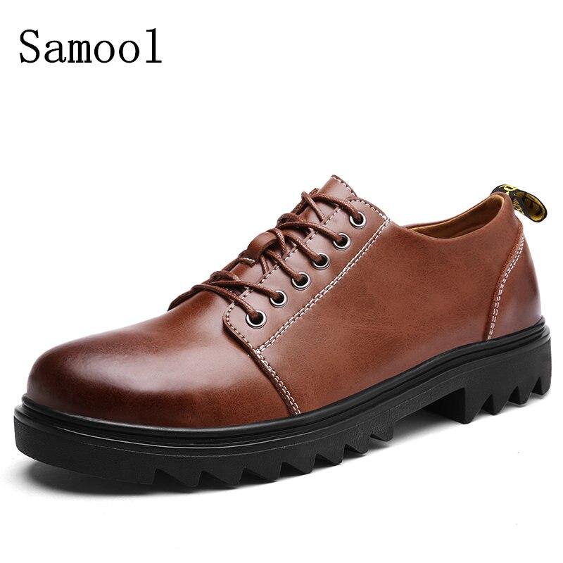 2017 Autumn Genuine Leather Mens Dress Shoes, High Quality Oxford Shoes For Men, Lace-Up Business Men Shoes, Men Wedding Shoes<br>