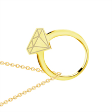 DIANSHANGKAITUOZHE 2017 Statement Jewelry Fashion Geometric Necklace Women Minimalist Circle Charm Pendant Anniversary Gift