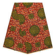 TQD Wholesale veritable dutch real print hollandais wax african clothing 100%cotton fabric 6 yards/pcs(China)