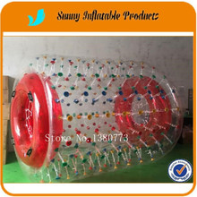 Hot sell Lake Inflatable Water Roller Ball Inflatable Water Balls for People(China)