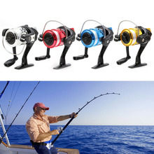 High Speed Fishing Line G-Ratio 5.2:1 Bait Folding Rocker Spinning Fishing Reels With Line