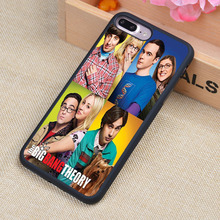 The Big Bang Theory Printed Soft TPU Skin Cell Phone Cases For iPhone 6 6S Plus 7 7 Plus 5 5S 5C SE 4 4S Back Cover Shell