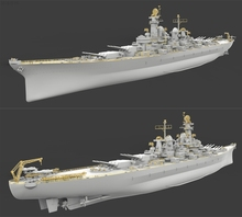 Veryfire VF700001 1/700 American Montana Battleship with Bottom Assembly Model(China)