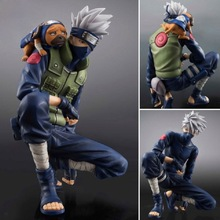 free shipping Figures Hokage Ninjia Car decoration Doll  Naruto  Sennin Moodo Shippuden Naruto Kakashi  children toy toys