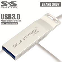 Suntrsi Pendrive Metal USB Flash Drive High Speed Pen Dirve USB Stick 3.0 Customized Logo Printing USB Flash USB 3.0 Flash Drive