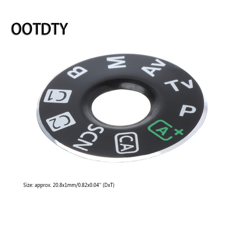 OOTDTY Camera Accessories Set Camera Function Dial Mode Interface Cap Button Repair Parts For Canon EOS 6D New