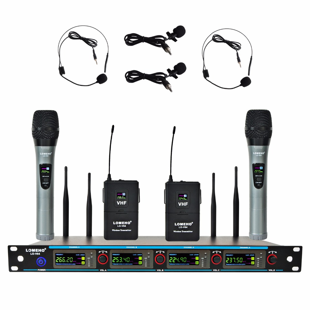 LO-V04H2 01  Wireless Microphones