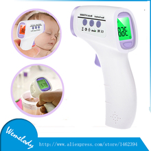 HTD8808 baby termometro infantil Digital Infrared Forehead Food Body Thermometer Temperature meter Three-color Backlight babylis