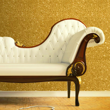 Commercial Flashing Scrub Matte Gold Foil Wallpaper Glitter Effect Feature Luxurious Walls Background Golden for home