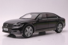 1:18 Diecast Model for Volkswagen VW Phideon 2016 Black Alloy Toy Car Collection Gifts(China)