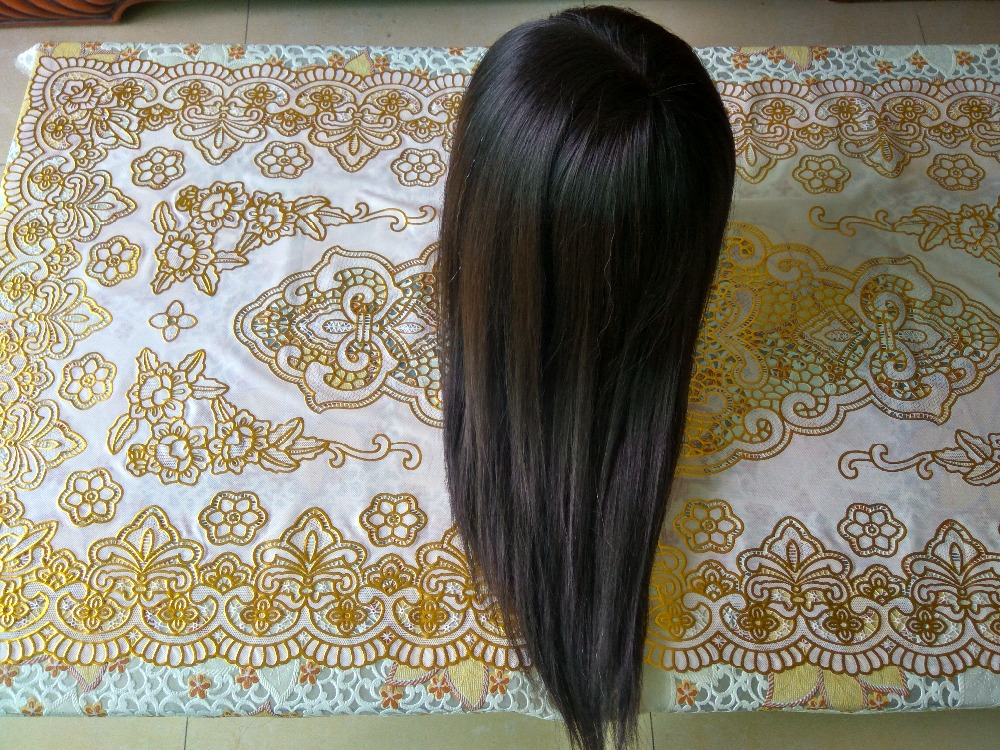 Professional Mannequin Head With Human Hair Styling head With 55cm 50% Real Black Hair Training Head for Hairdressers