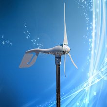 Hot Selling Rated 400W 24VAC Output Wind Turbine; Wind Power Generator wih 3PCS Blades, CE/ISO9001 Certificate(China)
