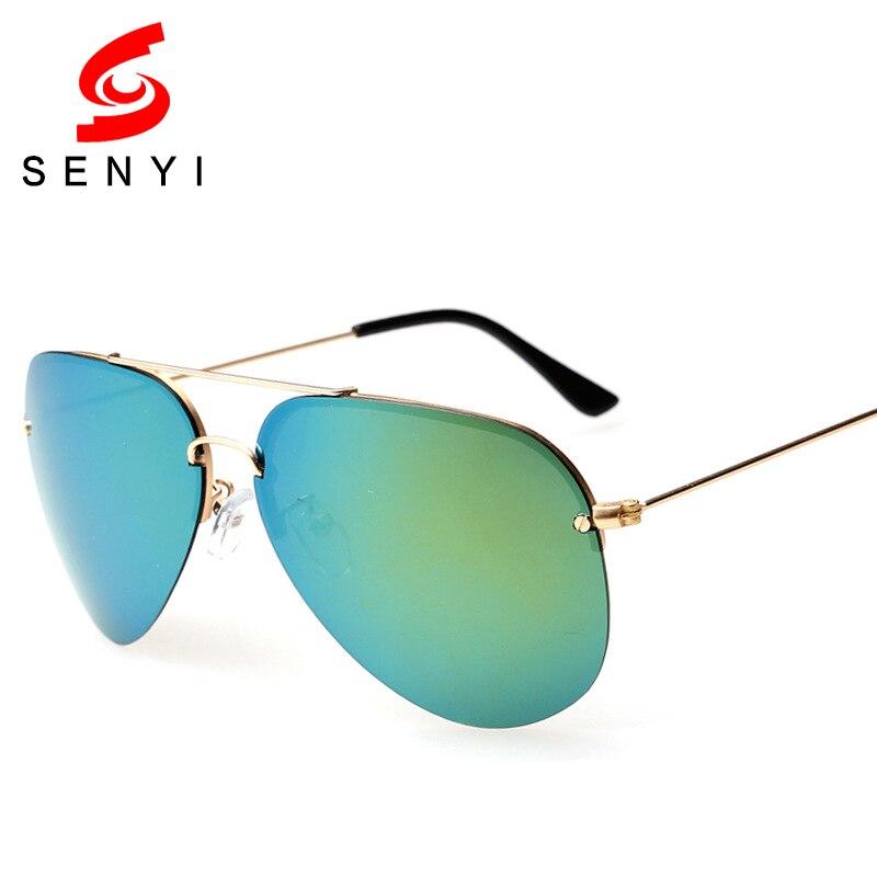 Luxury Polarized Sunglasses Unisex Anti Glare Sun Glasses UV400 Protect Brand Half Frame Anti Reflective Driving Sunglasses 231<br><br>Aliexpress