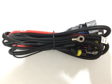 1pcs H4 relay harness hid xenon kit H4-3 H4 H/L H13 9004 9007 bixenon projector Lens wiring harness hi lo controller wire cable(China)