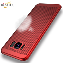 Buy KISSCASE Breathing Hard PC Case Samsung Galaxy S7 Edge S8 Plus Note 5 A3 2017 Cases Ultra Thin Slim Protect Back Cover Coque for $2.19 in AliExpress store