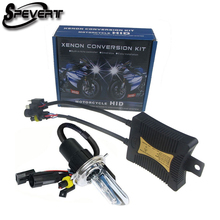 SPEVERT 55W H4 H/L HID Bi Xenon 4300K 5000K 6000K 8000K 10000K 12000K Headlight Motorcycle Motorbike Bike Lamp + Ballast(China)