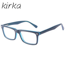 Kirka Nice Type Men Glasses Frame Retro Designer Myopia Brand Optical Clear Lens Eyeglasses Optical Frame for Men