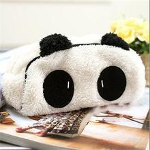 2016 High Quality Kawaii Panda School Pen Pencil Bag Pouch Cosmetics Pouch Bag Case Office Stationery Supplies