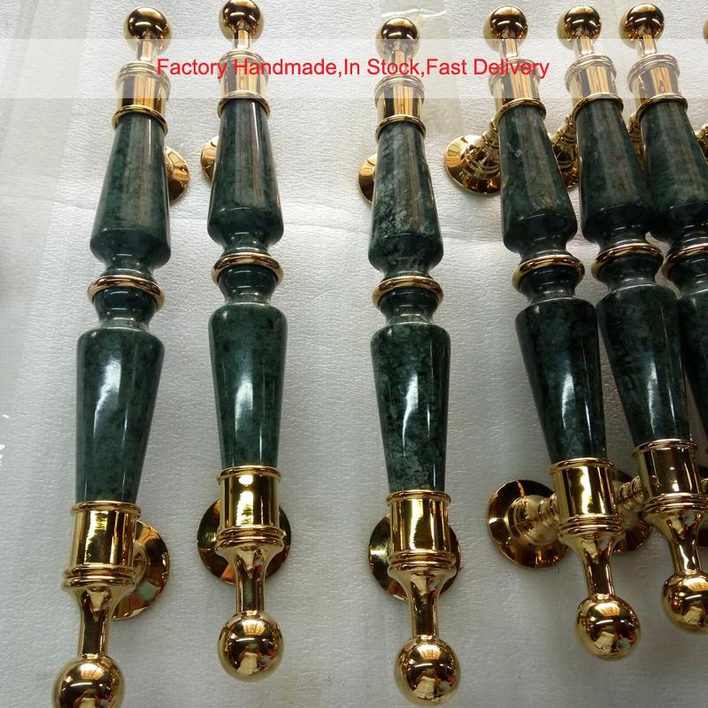Jade Marble Pull Handle PA-3211B-L380 7