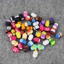 50pcs/lot 1.5cm Tsum Tsum Inside Out Mickey Minnie Donald Duck Daisy Pluto Bear PVC Figure toy(China)
