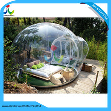 6X8M PVC Bubble Inflatable Tent Transparent Camping Tent Inflatable clear bubble tent free shipping
