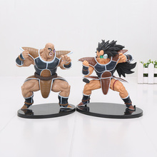 16cm Banpresto SC Dragon Ball Z Figure Saiyan Raditz Nappa DXF DBZ PVC Action Figure Model Toy