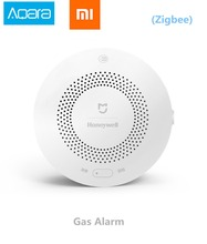 Buy Xiaomi Honeywell Gas Alarm Detector, Aqara Zigbee Remote Control CH4 Monitoring Ceiling&Wall Mounted Easy Install Work Mijia APP for $34.51 in AliExpress store