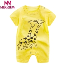 MUQGEW Newborn Infant Baby Boy Girl Cartoon Romper Cute Jumpsuit Climbing Clothes Spring autumn New Baby Rompers Overalls