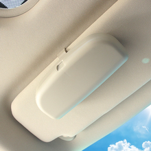Car Sunglasses Holder Glasses Case Storage Box Car Auto Interior For Volvo S60 S90 XC90 S80L XC60 V60 V40/Renault Koleos(China)