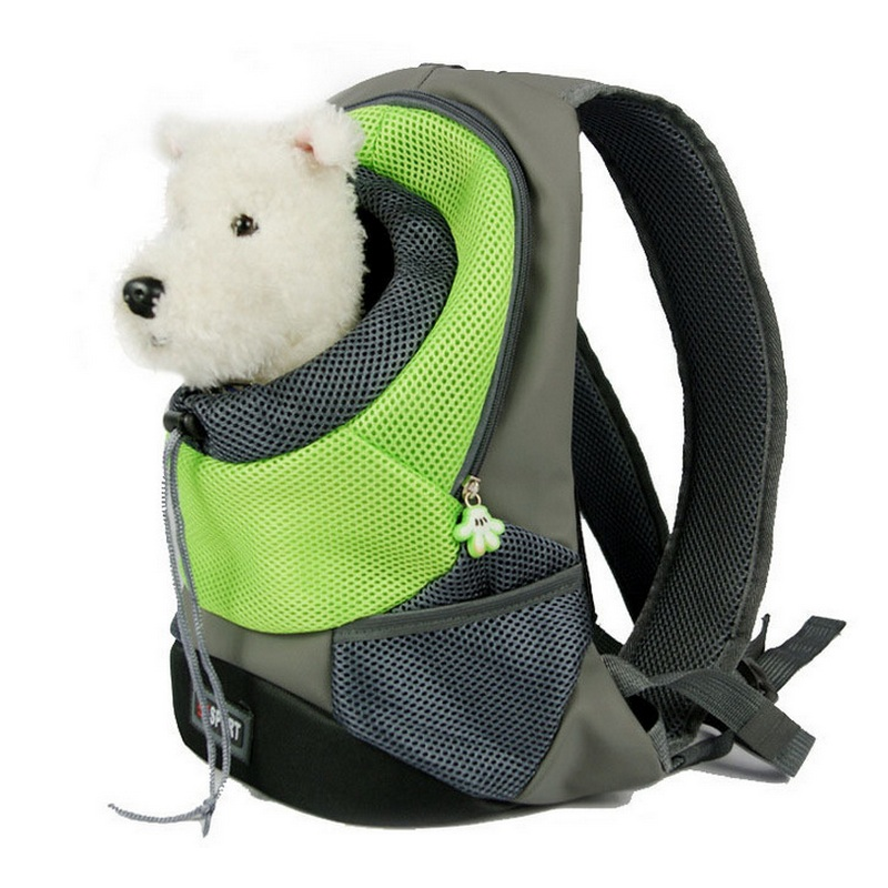 Pet carrier bag for small dogs and cats Dog Carriers pet portable bag dog travel backpack cat travel carrier carry bolsa(China)