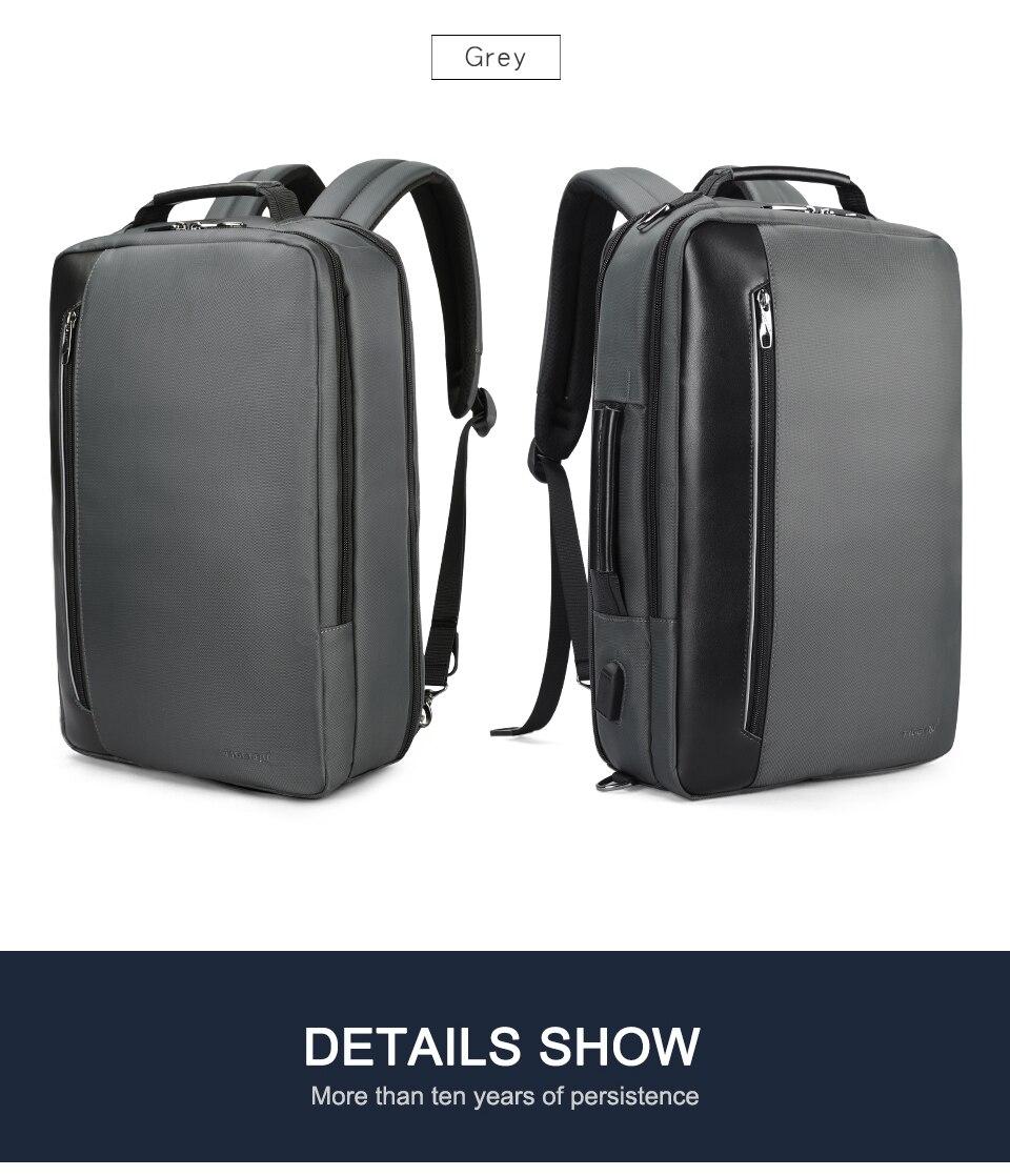 15.dark grey laptop backpack